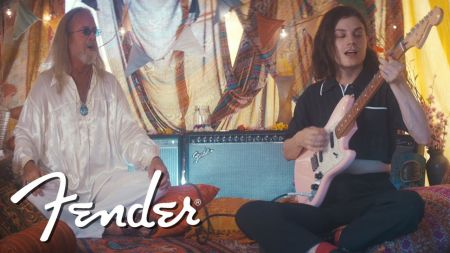 Interview: BØRNS chats about teaming up with Fender for the Offset Film Series and discusses his fondest music memories