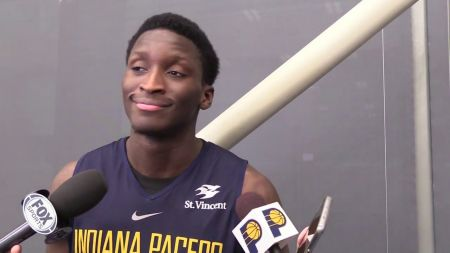 Victor Oladipo finding his way in Indiana