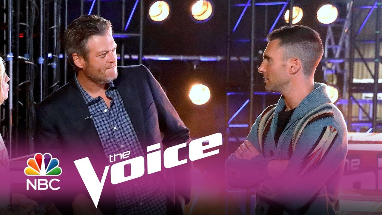 Adam Levine and Blake Shelton bet on who will sell more