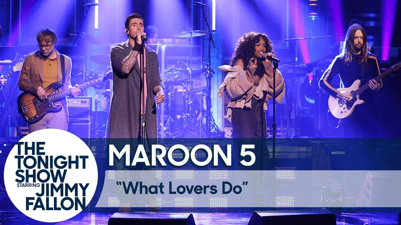 Maroon 5 schedule dates events and tickets axs watch sza join maroon 5 to perform what lovers do on fallon kristyandbryce Image collections