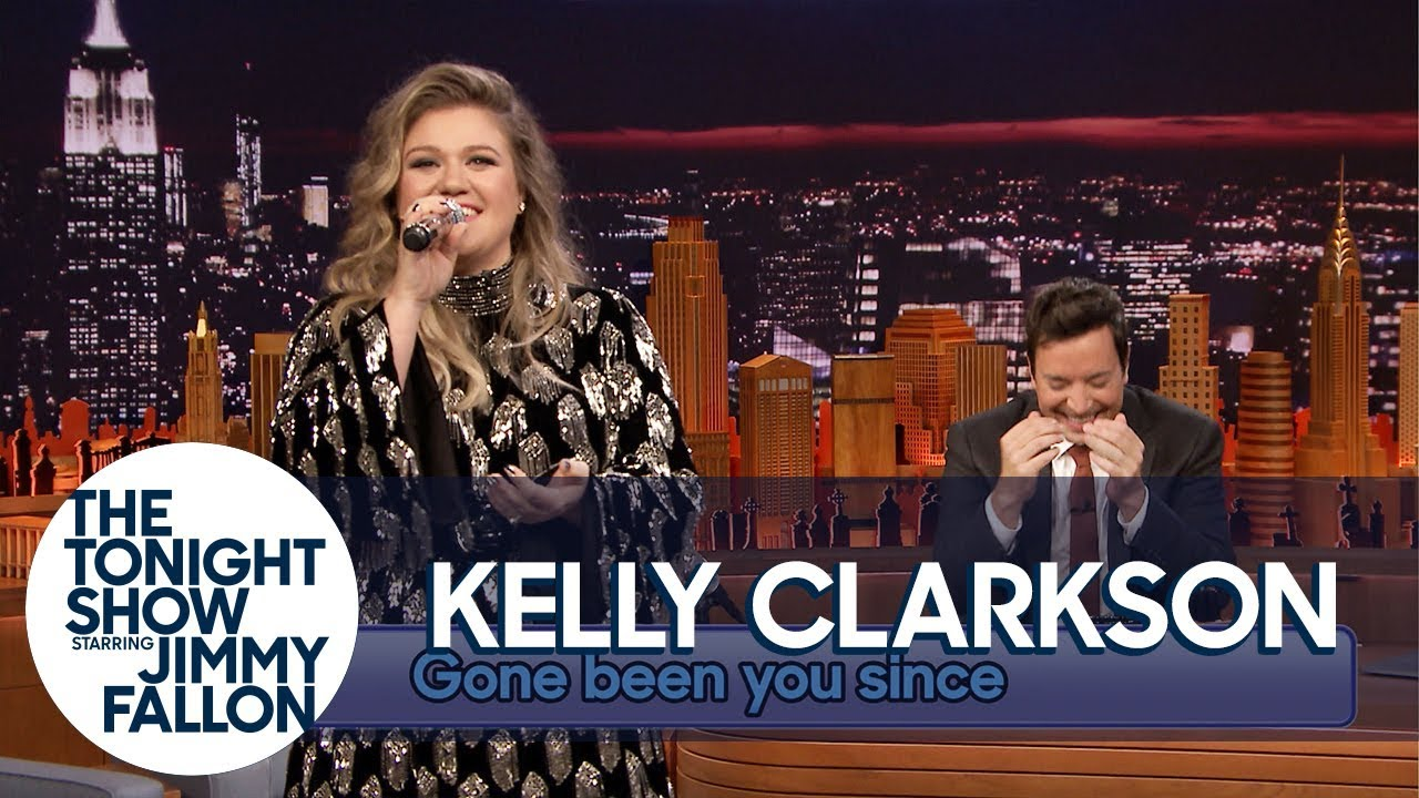 Watch Kelly Clarkson sing 'Since You've Been Gone' backwards