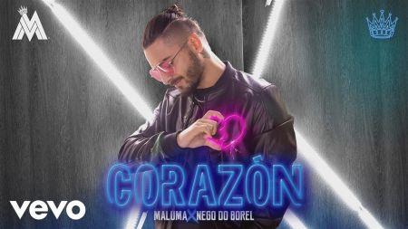Listen: Maluma sings in Spanish and Portuguese on new single 'Corazón'