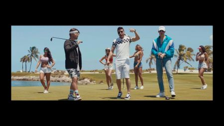 Prince Royce, J Balvin & Bad Bunny bask in paradise in 'Sensualidad' video