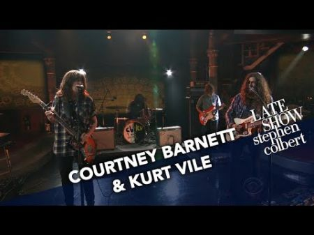 Watch Courtney Barnett and Kurt Vile showcase their perfection together with performances on 'Colbert'
