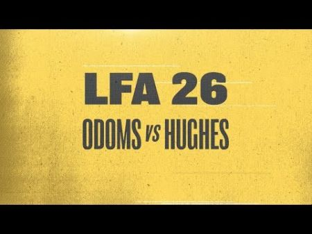 Richard Odoms prepares to defend Heavyweight title against Jeff Hughes in LFA 26