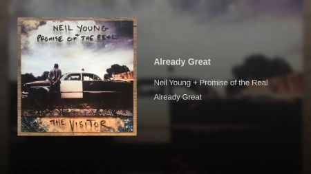 Neil Young releases new song 'Already Great' and announces album release