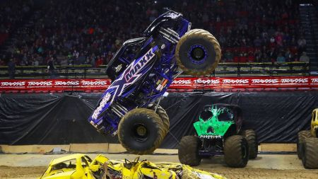 Traxxas Monster Trucks to rumble into Rabobank Arena on winter 2018 tour