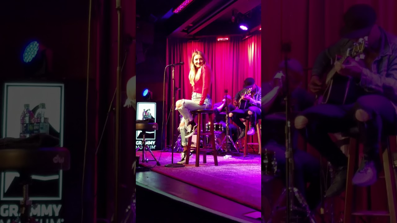 Julia Michaels performs songs she's written for herself & other artists at Grammy Museum