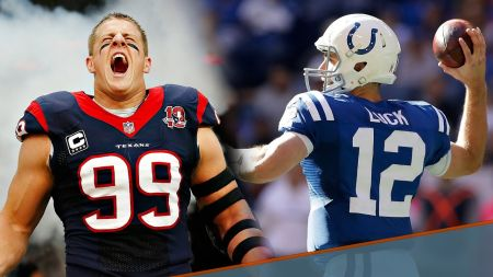 Best moments in the rivalry between the Houston Texans and Indianapolis Colts