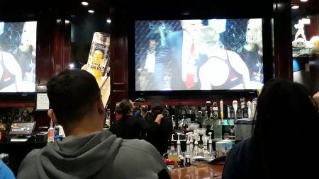 UFC 217: Long Island bar pops for 'Thug' Rose Namajunas