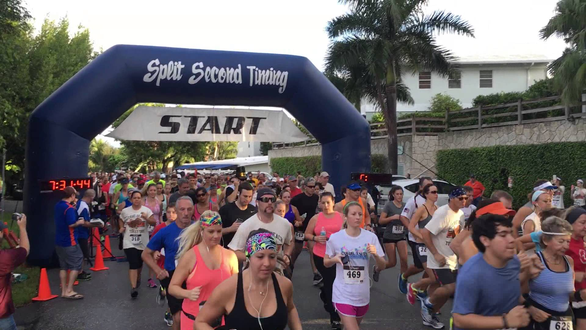 Turkey trots and Thanksgiving parades in West Palm Beach and Ft. Pierce 2017