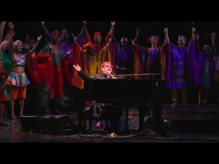 Watch: Elton John performs 'Circle of Life' for 20th anniversary of 'Lion King' on Broadway