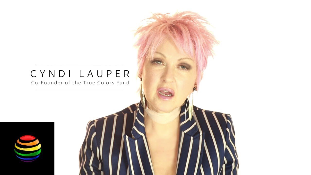 Att Joins Cyndi Lauper To Support Lgbtq Youth Host Home For The