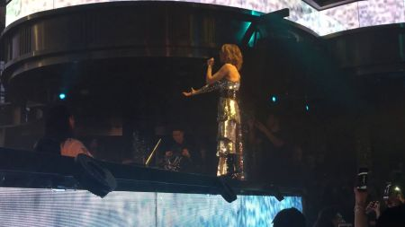 Watch: Steve Aoki performs with Celine Dion during Vegas fundraising concert