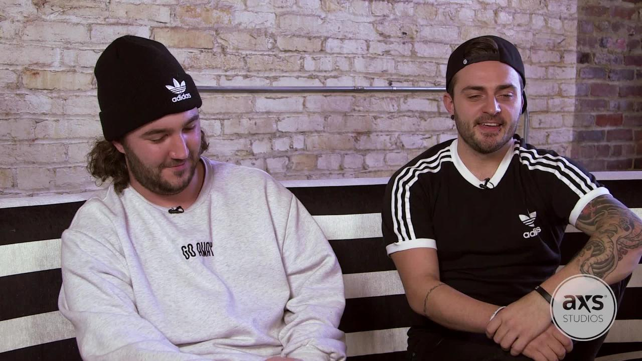 Watch I Prevail talk about how pro wrestling inspires their sets, upcoming shows and more