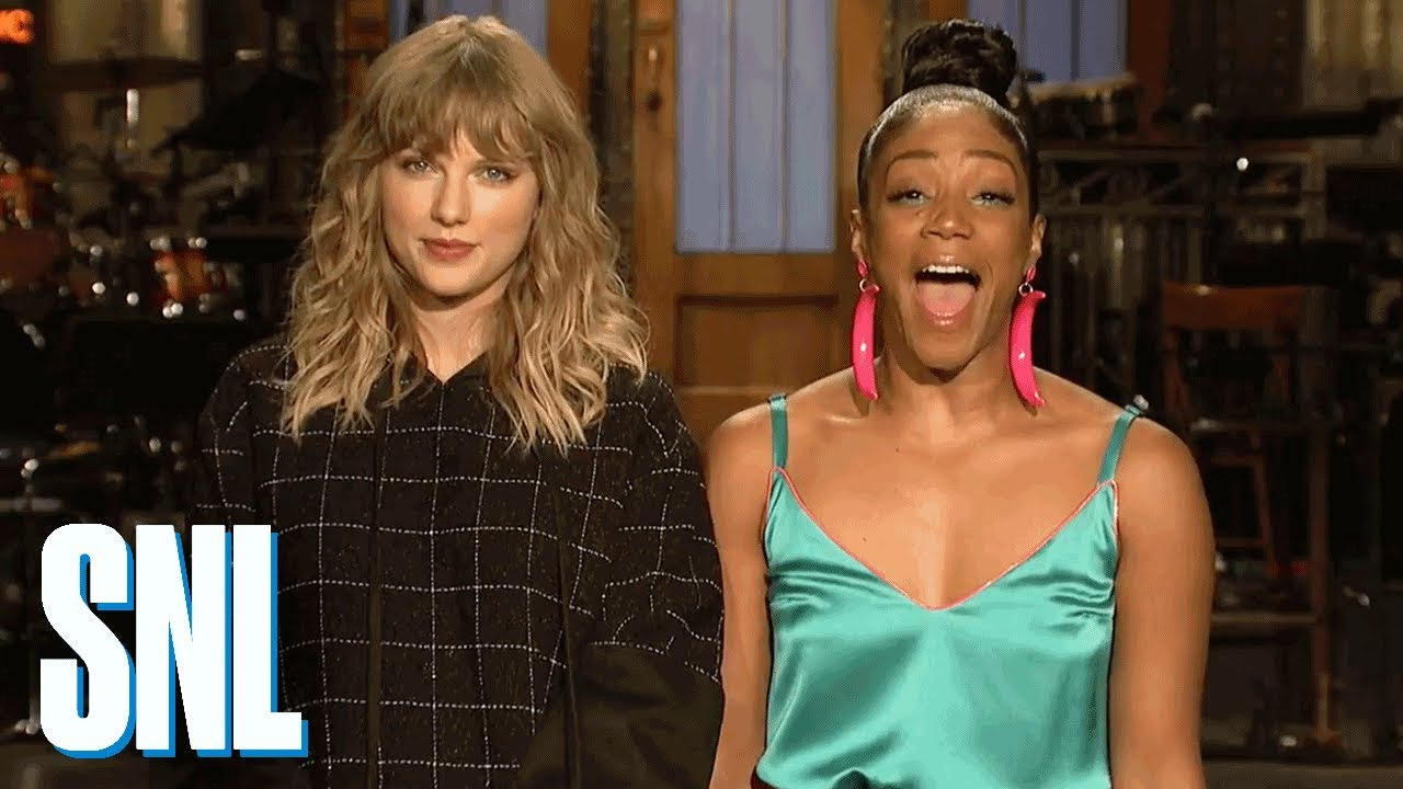 Watch Taylor Swift's promo for upcoming 'Saturday Night Live' appearance