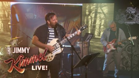 Watch: Dan Auerbach performs a pair of new solo tunes on 'Jimmy Kimmel Live'