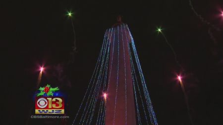 Where to see Christmas lights in Baltimore 2017