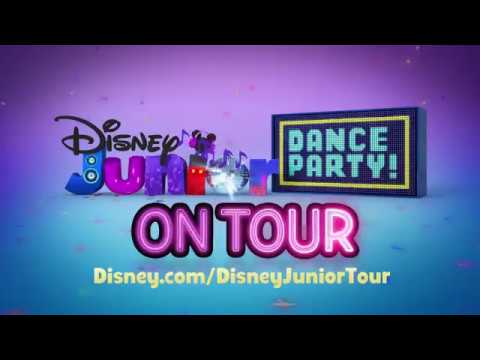 Disney Junior Dance Party to get kids and parents on their feet on