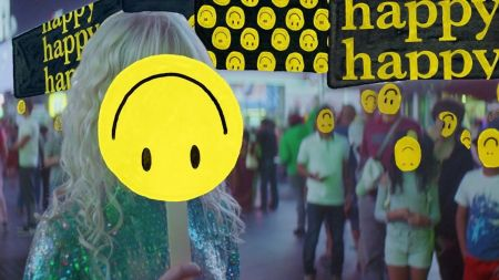 Watch Hayley Williams fake smile her way through Paramore's new video