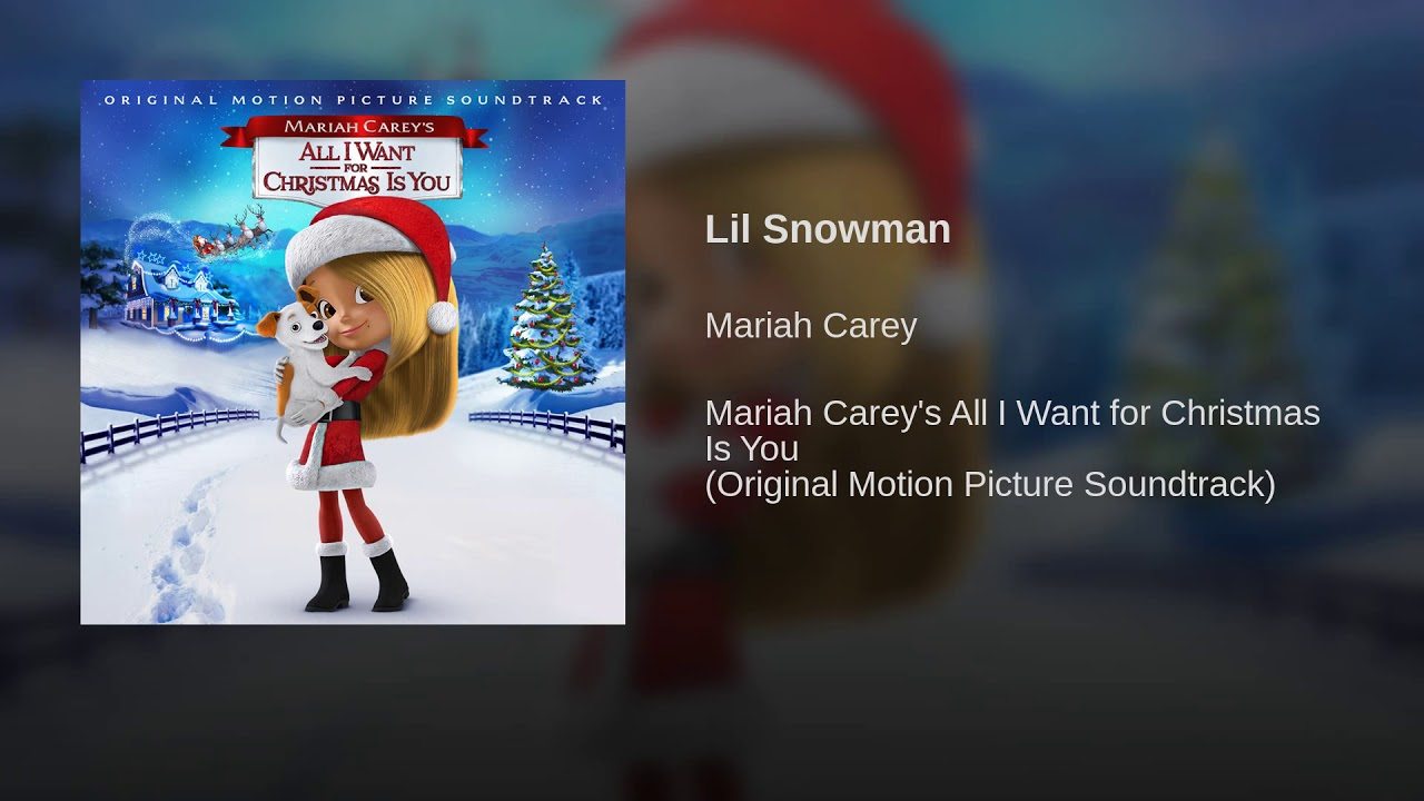 Listen: Mariah Carey keeps the Christmas songs coming with 'Lil Snowman&