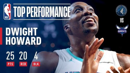 Dwight Howard experiencing rebirth with Charlotte Hornets