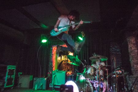 In Photos: Black Pistol Fire lights up Bottom of the Hill in SF