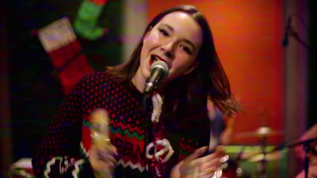 Watch: The Regrettes put a garage rock spin on 'All I Want For Christmas'
