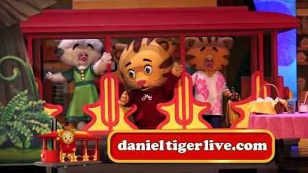 Daniel Tiger's Neighborhood Live! will make a stop at the City National Grove