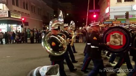 Holiday parades in Los Angeles 2017