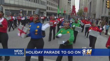 Holiday parades in Dallas and Ft. Worth 2017