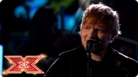 Watch: Ed Sheeran delivers tender 'Perfect' performance on 'The X Factor UK'