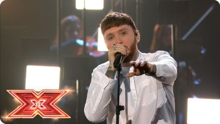Watch: James Arthur returns to 'The X Factor UK' stage to perform heartbreaking new single 'Naked'
