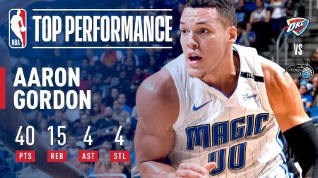 Aaron Gordon continues to flash star potential for Orlando Magic