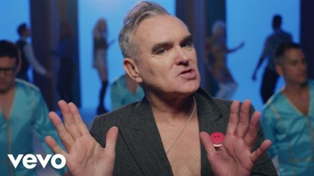 Watch: Morrissey busts a move in new video for 'Jacky's Only Happy When She's Up on the Stage'