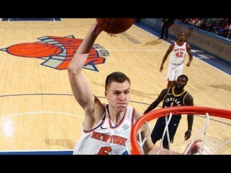 New York Knicks catch break with Kristaps Porzingis injury