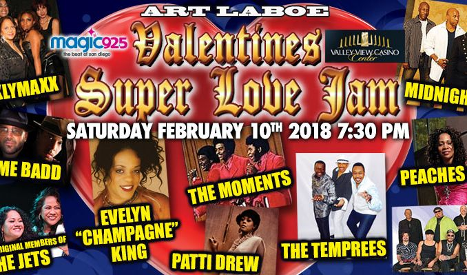 Schön Art Laboe Valentines Super Love Jam Tickets At Valley View Casino Center In San  Diego
