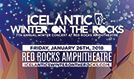 Icelantic's Winter on the Rocks featuring Mac Miller / Jauz tickets at Red Rocks Amphitheatre in Morrison