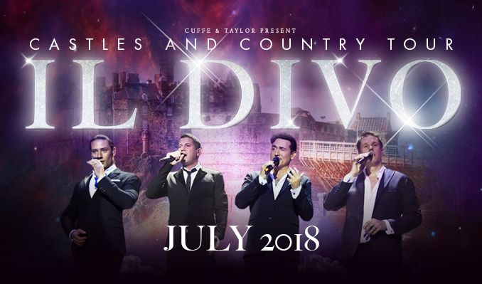 Il Divo tickets at Alnwick Castle, Northumberland