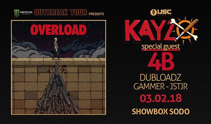 Kayzo tickets at Showbox SoDo in Seattle