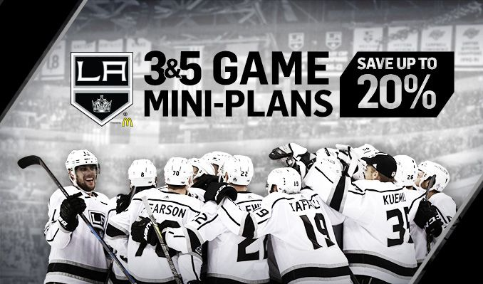 LA Kings Mini Plans tickets at STAPLES Center in Los Angeles