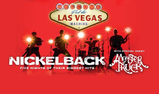 Nickelback tickets at The Joint at Hard Rock Hotel & Casino Las Vegas in Las Vegas