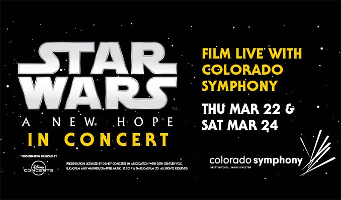 Star Wars: A New Hope In Concert with the Colorado Symphony tickets at 1STBANK Center in Broomfield