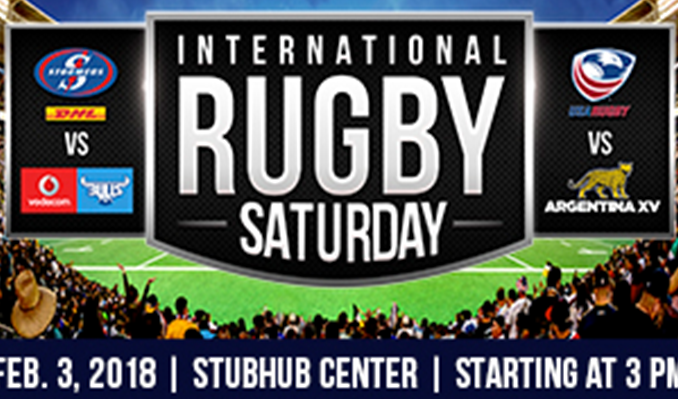 Super Rugby - Bulls vs Stormers Americas Rugby Championship - USA vs Argentina XV tickets at StubHub Center in Carson