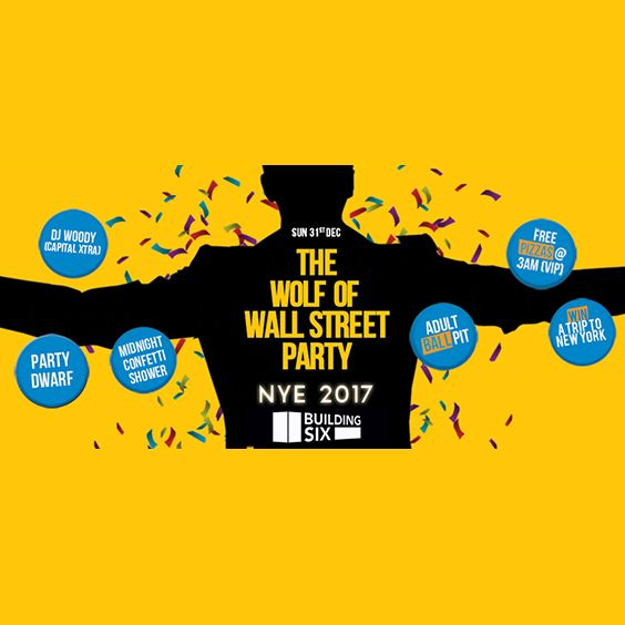 AEG Presents | The Wolf of Wall Street NYE Party