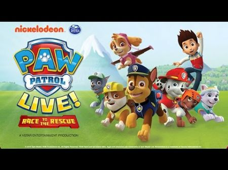 Paw Patrol Live! to 'Race to the Rescue' across the US in 2018