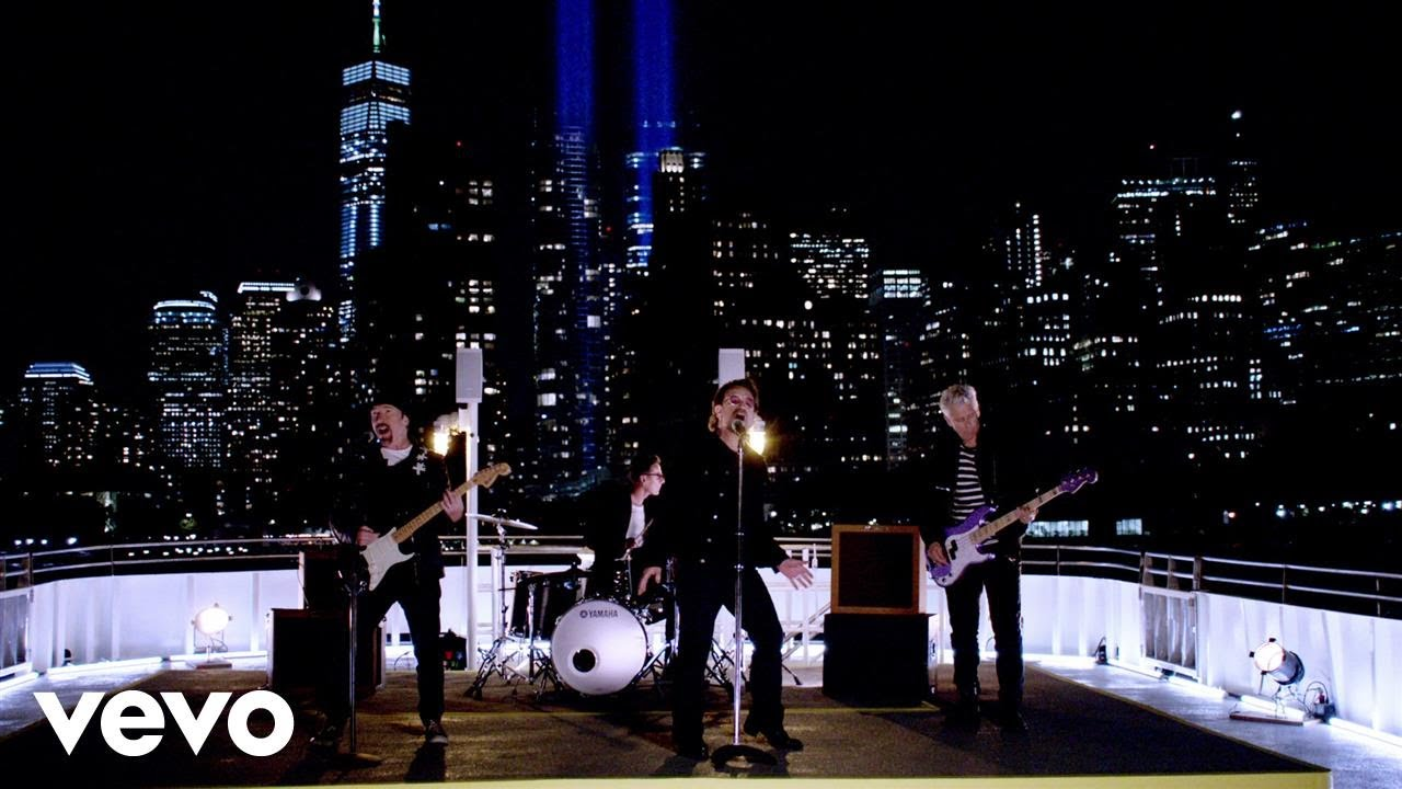 Grammy award winning rock band U2 releases 'Songs of Experience'