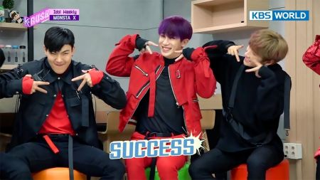 Watch Monsta X play games, discuss DRAMARAMA and more on KBS K-Rush