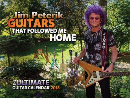 Interview: Jim Peterik Discusses His New 2018 Calendar, 'Guitars That Followed Me Home'