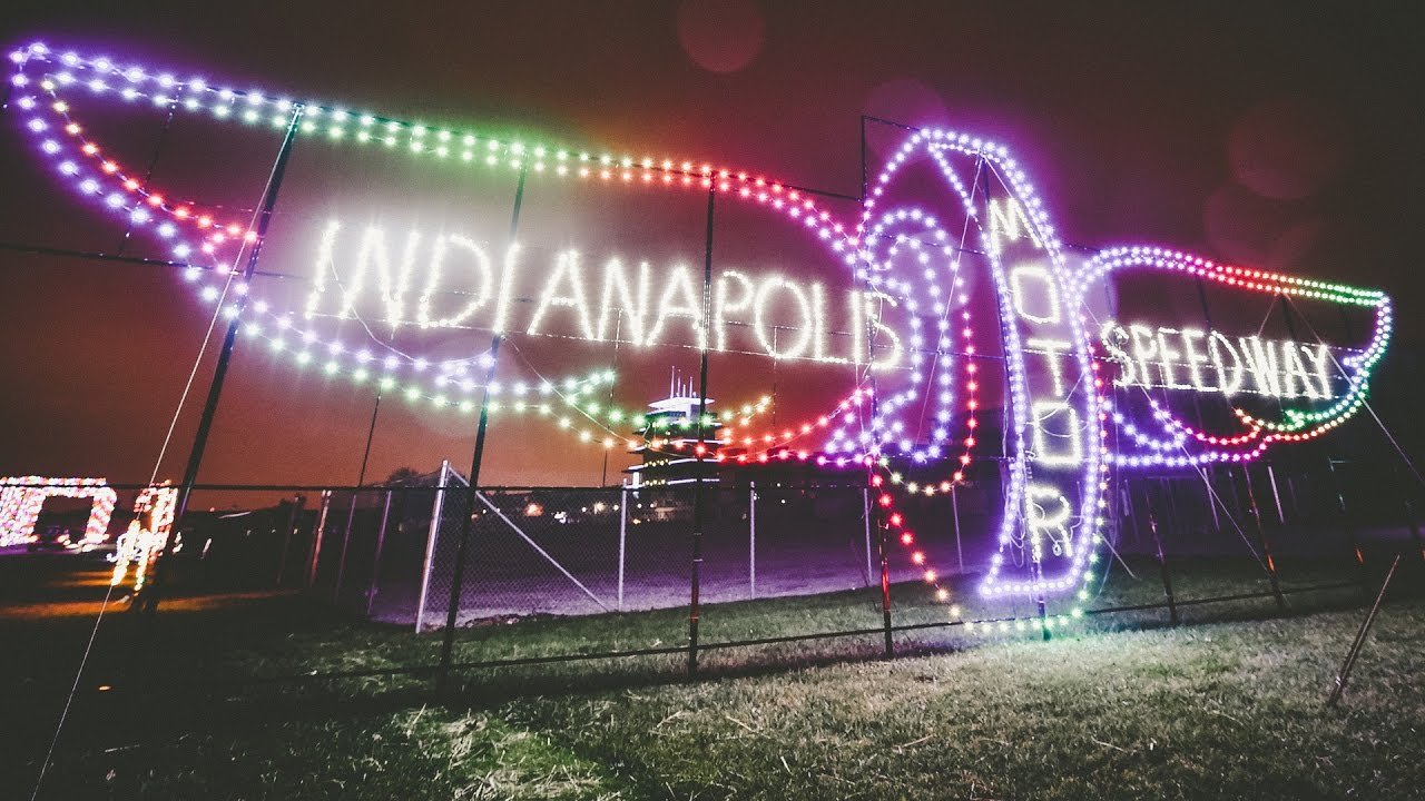 Where to see Christmas lights in Indianapolis 2017